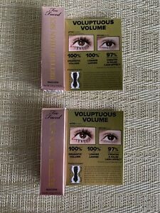 Too Faced Better Than Sex Mascara 2x  3.9g Travel Size