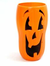Haunted House Jumbo Halloween Plastic Drink Beakers ~ Pumpkin Cup