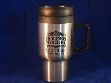 Golden Nugget Casino insulated coffee TRAVEL Mug - NEW!  Stainless Steel Quality