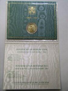 Vatikan 2 Euro ST im original Klappfolder 2010 - 2018 nach ihrer Wahl