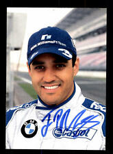 Juan Pablo Montoya Autogrammkarte Original Signiert Formel 1+A 153200
