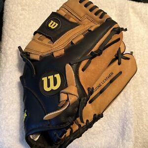 "Wilson Softball Baseball Glove Mitt A360 Pocket Leather 12"" A036012 RHT"