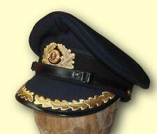 Volksmarine NVA DDR Schirmmütze für Offizier Dienstmütze
