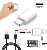 ✅Typ C zu Lightning Adapter USB-C 8-Pin Lightning Stecker f. iPhone iPad Macbook