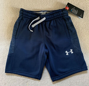 Boys Under Armour Shorts.Authentic. New. Blue. Size YSM Age 7-8