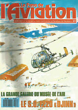 "FANA DE L AVIATION N°211 S.0 1220 ""DJINN"" / CONVAIR B-36 / AVIONS A REACTION"