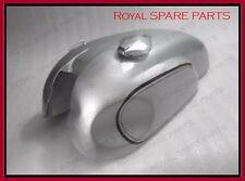 Norton MANX Triton Silver Painted Petrol Tank With Cap