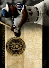 2012 Topps Baseball Gold Standard #GS-31 Hank Aaron Atlanta Braves