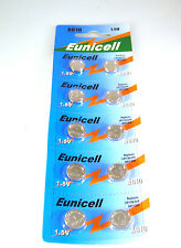 Eunicell AG10 Alkaline 1.55V Batteries Battery Card of 10 pieces OM240