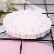 100pcs Lace Coaster Placemat Cushion Mug Holder Tea Cup Pad Mat Wedding Party