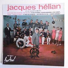 33T 25cm Jacques HELIAN Vinyle NOUVEL ORCHESTRE -CELIBATAIRE -FESTIVAL 295 RARE