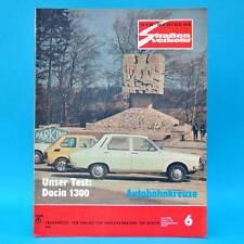Der Deutsche Straßenverkehr 6/1976 Dacia 1300 Skoda 1000 MB S 100 Schönefeld F