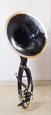 Sousaphone 22 inch Black color Bb pitch with hard case + MP (Fast shipping)