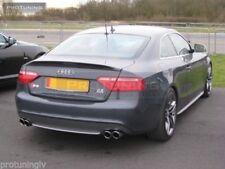 Boot Spoiler For SE Audi A5 2D rear  Lip RS S Sline s-Line Trunk door trim