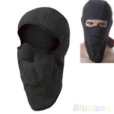 Motorcycle Thermal Fleece Balaclava Neck Winter Ski Full Face Mask Cap Cover New