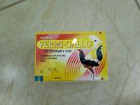 Vermi-FortyGallo 100tabs//Desparasitante  Gallos-Aves// Rooster-Poultry Dewormer