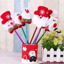 12pcs Cute Christmas Santa Ballpoint Pen Office School Supplies Stationery B