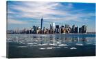 ARTCANVAS New York Winter Skyline Canvas Art Print