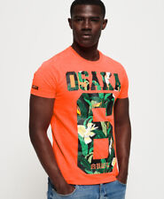 Superdry Mens Osaka Mid Weight T-Shirt
