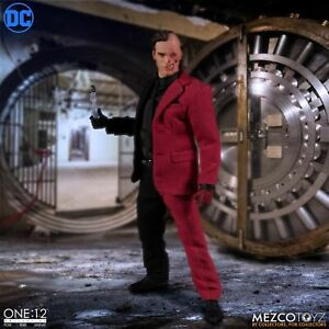 "One: 12 Collective DC Comics TWO-FACE 6"" Action Figure Mezco Batman In Stock"