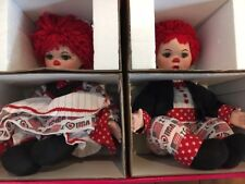 "New in Box MARIE OSMOND 2004 ""HUGGS & KISSY RED, WHITE & I LOVE BLUE"" DOLLS"