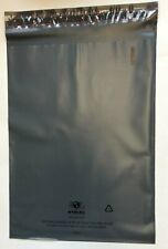 100 Recyclable Poly Bag Mailers 9 X 12 Grey Gray Unlined Self Seal Envelope