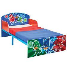 Pj Masks Junior Cama Infantil Resistente Marco Acero Dormitorio Infantil