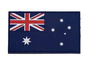 PVC Australian Flag Patch - New