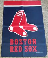 "Boston red sox House Flag 28""×40"" officially licensed open box new"