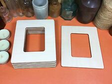 WOODEN RECTANGLE FRAME Shapes 15cm (x10) laser cut wood cutout craft shap blanks