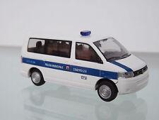 RIETZE 53421 - 1:87 - VW T5 GP Bus KR FD Polizia Municipale (IT) - NEU in OVP