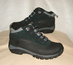MERRELL THERMO ICEFIELD MID SHELL WP Winter Boots    Men's 10