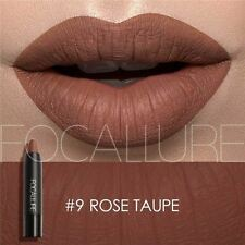 FOCALLURE Long Lasting  Lipstick Matte Waterproof-#9-Rose Taupe
