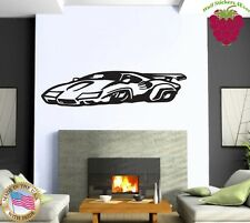 Wall Stickers Vinyl Decal Sports Muscle Car Racing Home Decor ig896