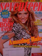 KE$HA Nov. 2010 SEVENTEEN Mag BEST BODY EVER!