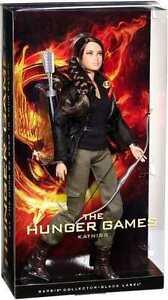 Barbie Collettore Nero Etichetta Bambola The Hunger Games Prima IN Serie Nisb