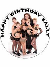 7.5 TV SHOW DANCE MOMS EDIBLE ICING BIRTHDAY CAKE TOPPER