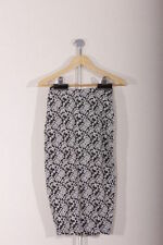 Polyester Straight, Pencil Floral Petite Skirts for Women