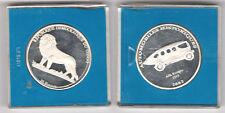10 Francs 2002 Kongo Alfa Romeo 1913 - Original 999 Silber Münze in PP