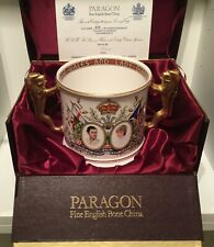 Boxed Paragon Limited Edition Large Loving Cup Charles & Diana Wedding 1982