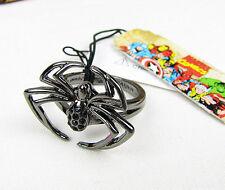 Marvel Comics Gunmetal Spider Ring Size 7