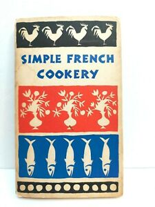 1958 Simple French Cookery Cookbook Recipes Peter Pauper Press Beilenson