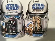 Hasbro  STAR   WARS  ARC  TROOPER  COMMANDER, Battle Droid Set !!!!!!!!