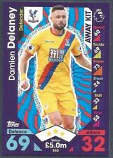 TOPPS MATCH ATTAX 2016-17- #365-CRYSTAL PALACE-DAMIEN DELANEY-AWAY KIT