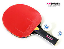 Butterfly ADDOY S10 Table Tennis Racket Shakehand Grip Ping Pong Racquet & Ball