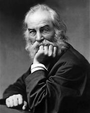 Author Journalist WALT WHITMAN Glossy 8x10 Photo Poet Print Writer Poster