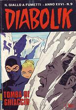 fumetto DIABOLIK ANNO XXVI numero 9
