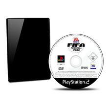 PLAYSTATION 2 -PS2 JUEGO FIFA FOOTBALL 2004 SIN Paquete Original Sin