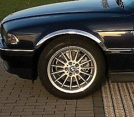 BMW 7 (E38) année '94-01 Extensions d'aile 2 AV et 2 AR Chrome