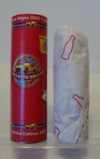 2003 WORLD OF COCA COLA LAS VEGAS 2003  8 Oz. GLASS COCA COLA BOTTLE & TUBE-G49